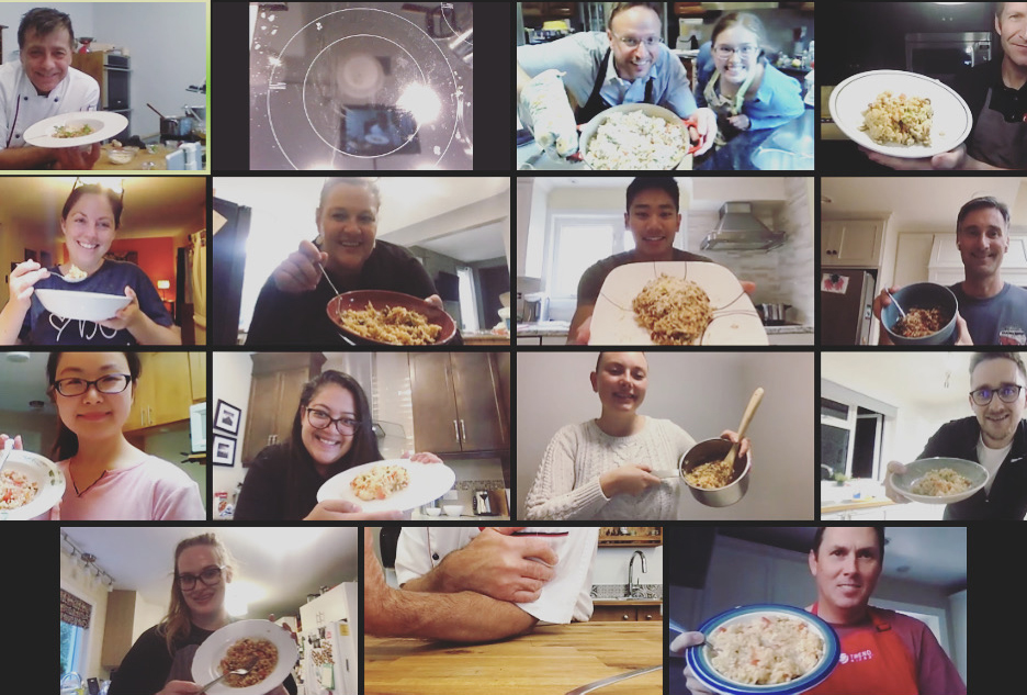 Online Group Cooking Classes